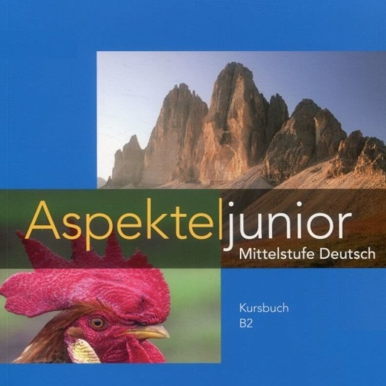 дети учат немецкий язык c Aspekte junior