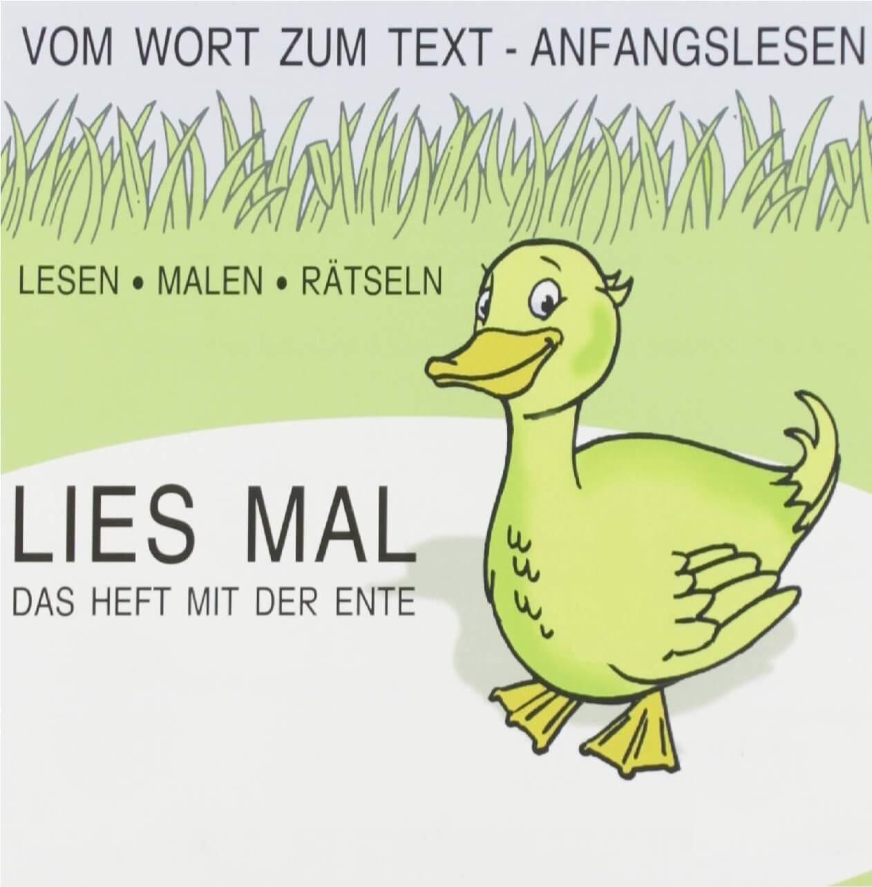 Читать по немецки вместе с Lies mal